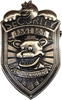 New Horizons Production Five Nights at Freddy's Fazbear Entertainment 3 Inch Tall Metal Pin