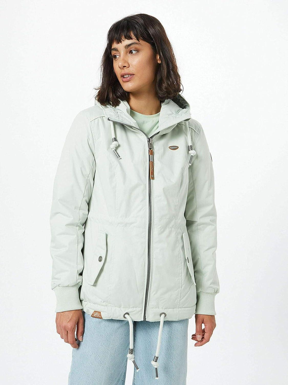 Ragwear DANKA DOTS (SUMMER) damen jacke vegane mode Pale Grün