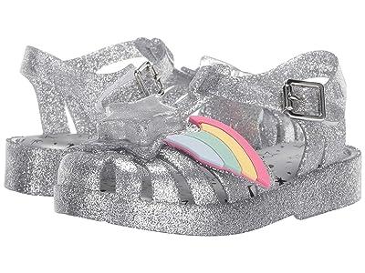 Mini Melissa Mini Possession II (Toddler) (Silver Glass Glitter) Girls Shoes