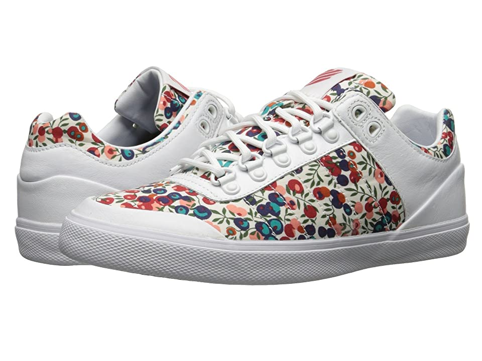 K-Swiss Gstaad Neu Sleek Liberty (White/Rococco Red) Women