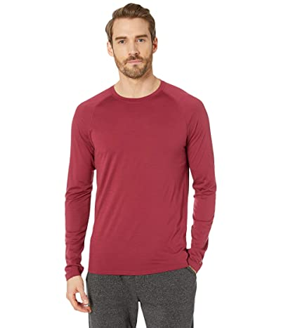 Smartwool Merino 150 Baselayer Long Sleeve (Tibetan Red) Men