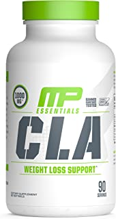 Muscle Pharm Essentials CLA Softfgels, 1000mg CLA Blend, 90 Servings (PH20)
