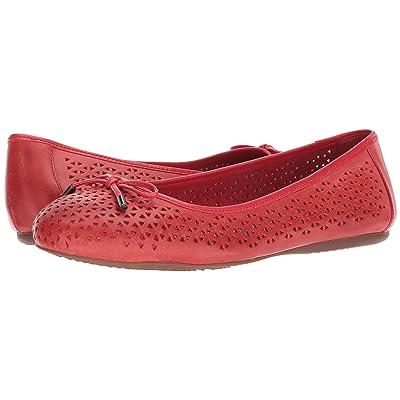 SoftWalk Napa Laser (Red Laser Cut Leather) Women