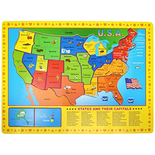 State and Capital Maps for Kids: Amazon.com