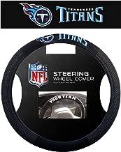 Fremont Die NFL Unisex Poly-Suede Steering Wheel Cover