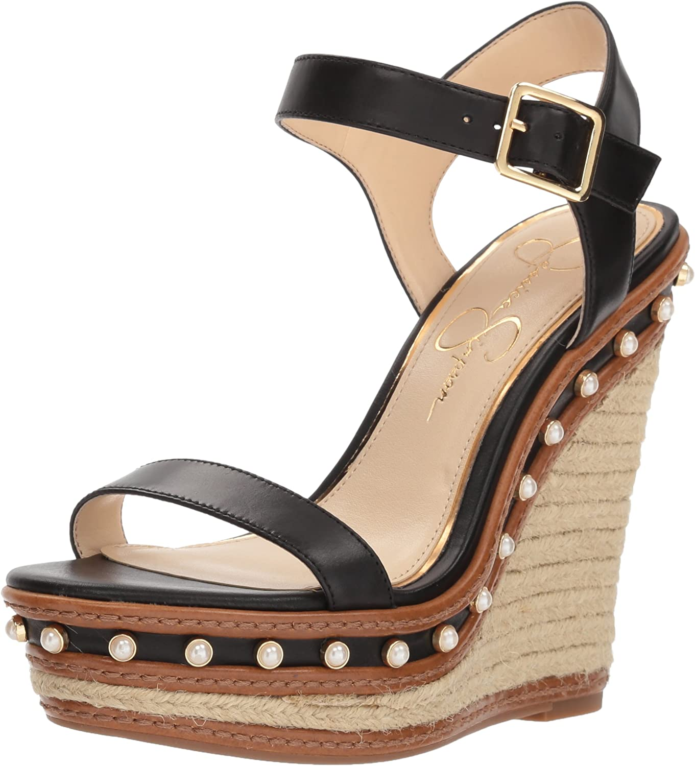 Jessica Simpson Womens Arly Espadrille Wedge Sandal
