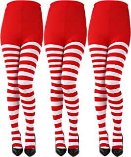 Best red white striped tights Reviews