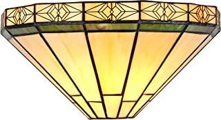Chloe CH31315MI12-WS1 Belle Tiffany-Style Wall Sconce with 12