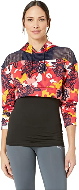 Flourish Touch of Life Cropped Hoodie