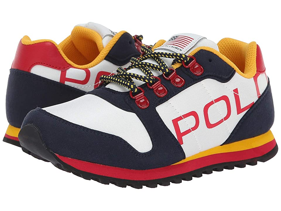 Polo Ralph Lauren Kids Oryion II (Little Kid/Big Kid) (Navy/White) Boy