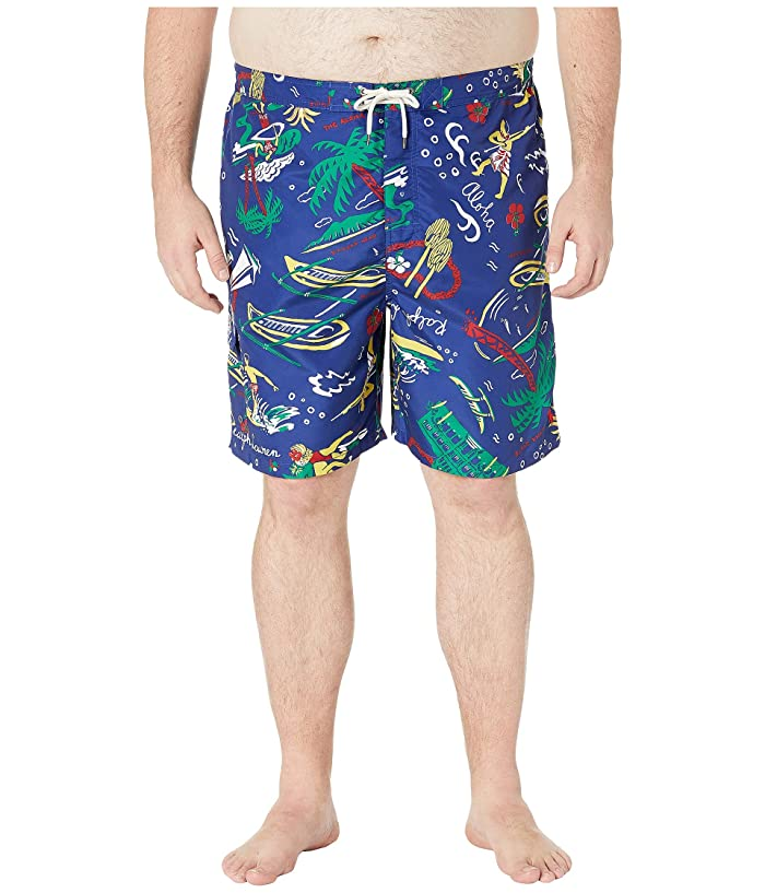 Polo Ralph Lauren Surf Board Trunks Pony Cargo Swim Suit Beach Shorts Big Tall
