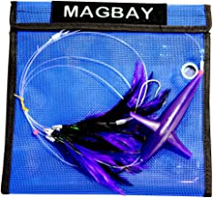 MagBay Lures Tuna Feather Teaser Daisy Chain Lure with Bird