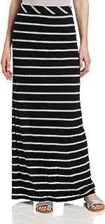 Women's Stripe Maxi Skirt