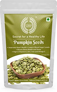 Fitness Mantra Pumpkin Seeds 250 g for Weight Loss & Healthy Skin | Gluten Free, Vegan, Organic, High Protein