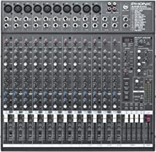 Best phonic 12 channel mixer Reviews