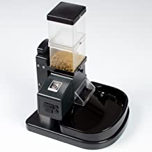 Super Feeder Automatic Cat Feeder, CSF-3, Digital Timer, Chute Cover, Stand/Bowl-Up to 8 Daily Meals, 4 3/4 Cups Capacity Optionally Expandable