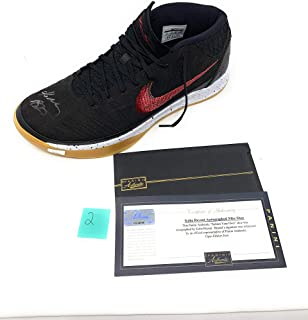 Kobe Bryant Los Angeles Lakers Signed Autograph Nike Limited Edition Shoe #2 Panini Authentic Certified *imperfect*