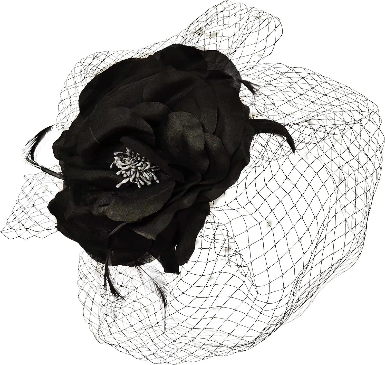 online shop August Hats Cheap Designer Feather Womens See-Through U Fine Millinery