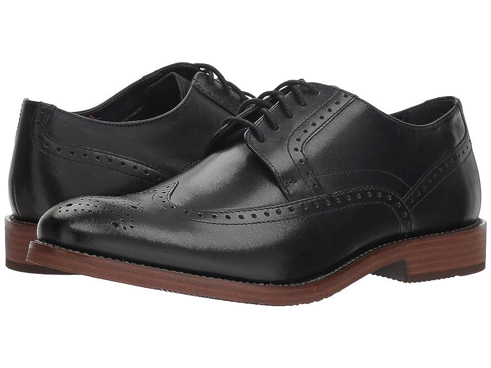 Nunn Bush Middleton Wing Tip Oxford (Black) Men