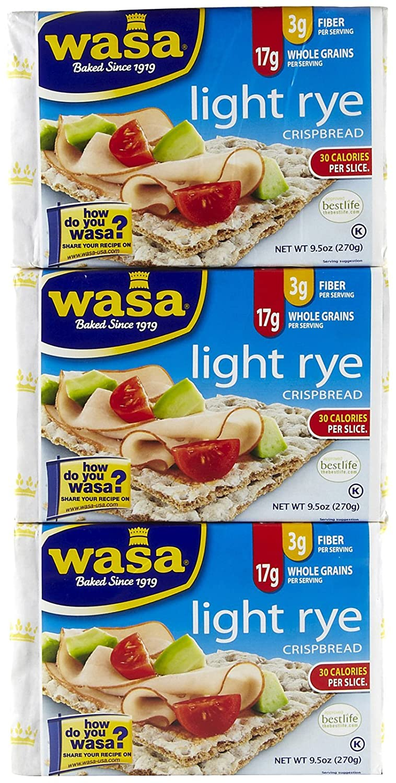 Wasa Crispbread Light Rye pk Long-awaited 3 9.5 oz Ranking TOP18