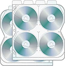 8 Disc CD/DVD Binder Page with Safety-sleeve - Pack of 50