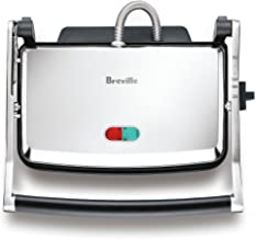 Breville The Toast and Melt Sandwich Press, Brushed Stainless Steel BSG220BSS