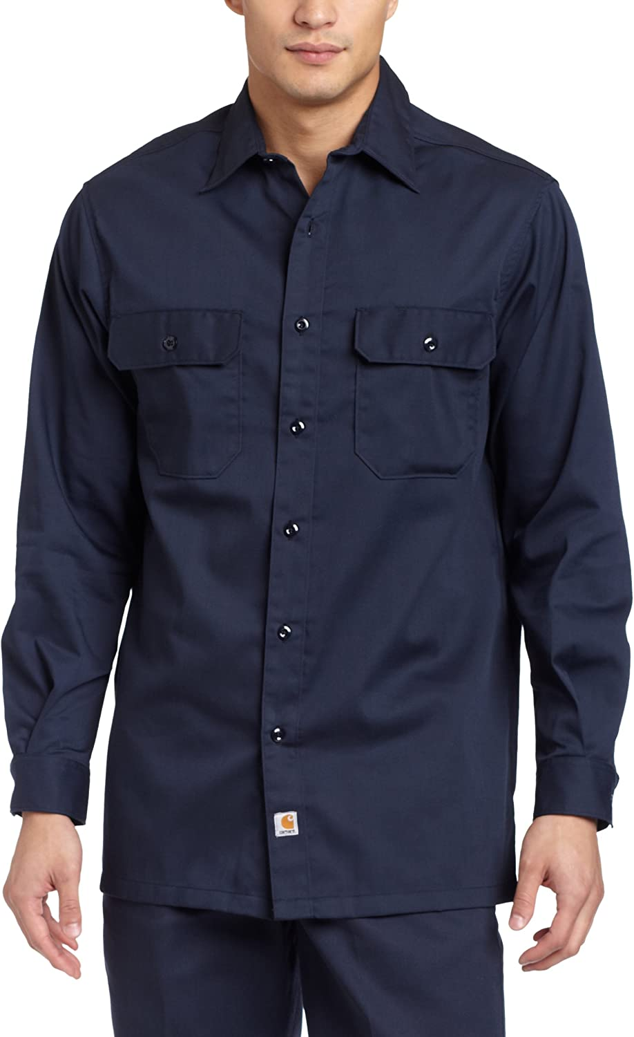 Direct stock discount Carhartt Men's Big Tall Twill security Long Sleeve Relaxed Shi Fit Work