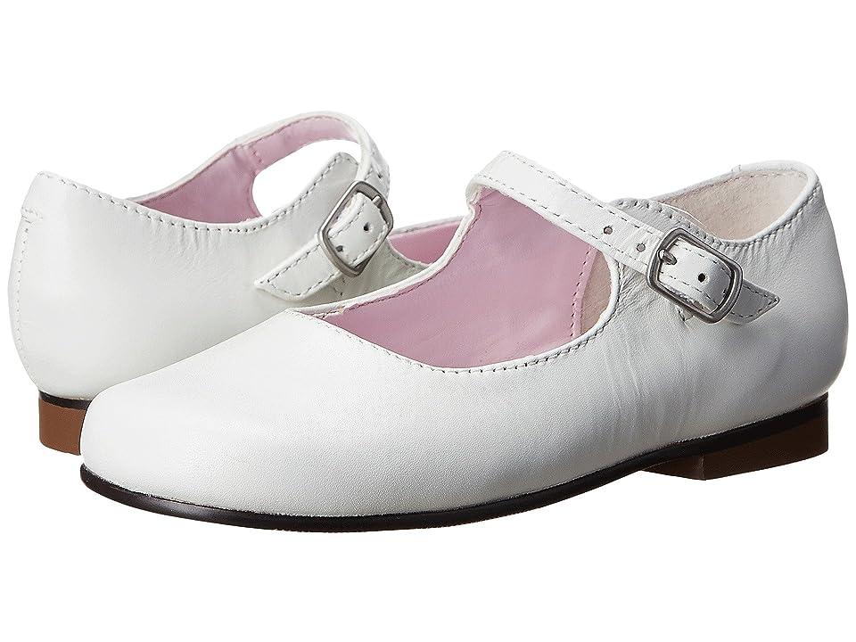 Nina Kids Bonnett (Toddler/Little Kid) (White Leather) Girls Shoes