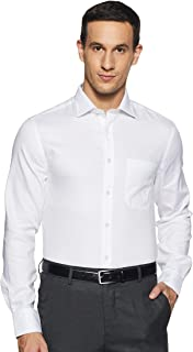 Marks & Spencer Men's Plain Slim fit Formal Shirt
