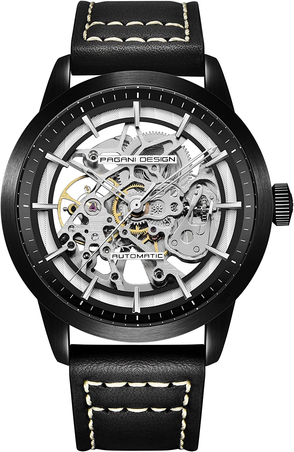 Pagani Design Automatic Max 70% OFF Watch Mens Long Beach Mall Skeleton Watches S Mechanical