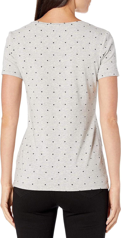Amazon Essentials Women's 2-Pack Classic-Fit Short-Sleeve Scoopneck T-Shirt