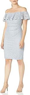 فستان ضيق بياقة مكشكشة للسيدات من جيسيكا هوارد