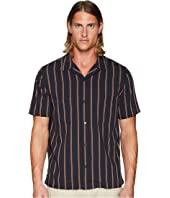 Vince - Vintage Stripe Cabana Short Sleeve Shirt
