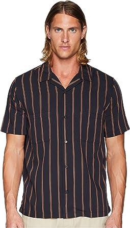 Vintage Stripe Cabana Short Sleeve Shirt