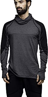 Men's Long Sleeve Hooded Shirt. Handmade Quality Ninja Sweatshirt Hoodie.