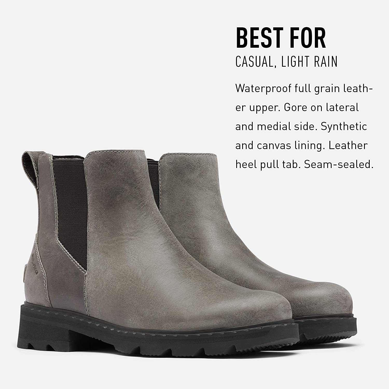 Waterproof Rain Sorel Womens Lennox Chelsea Boot