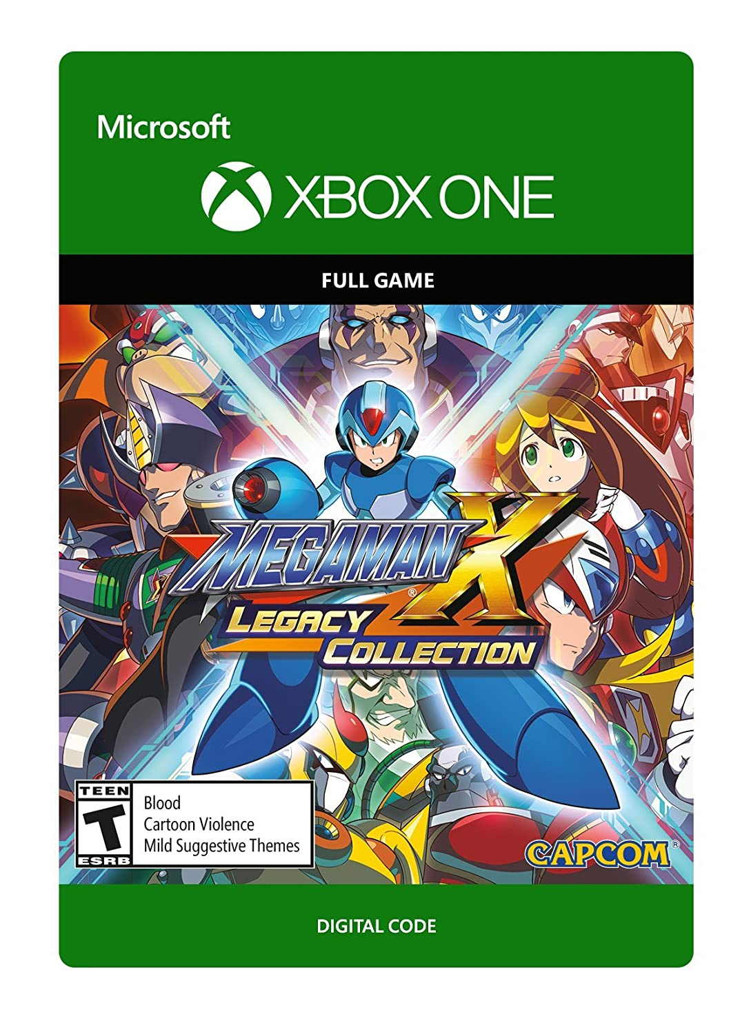 Mega Man X Legacy Collection Code Digital sold Cheap bargain out One - Xbox