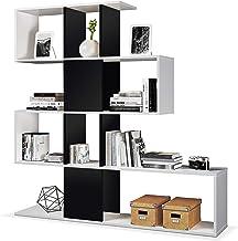 13Casa Kafka B10 Libreria Bianco//Rovere 90x25x180 cm Melammina