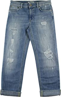 Dondup YP199 - Pantalones vaqueros para niña de algodón