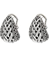 John Hardy - Asli Classic Chain Link Buddha Belly Earrings