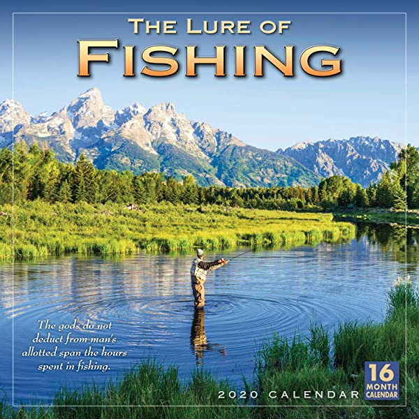 The Lure Of Fishing 2020 Wall Calendar By Sellers Publishing