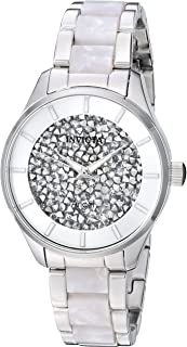 Women's Angel Quartz Watch with Stainless-Steel Strap, Silver, 15.8 (Model: 25246)