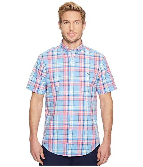 Sleeve Vineyard Plaid Bluff Vines House Tucker Classic Shirt Short FfqXBf4