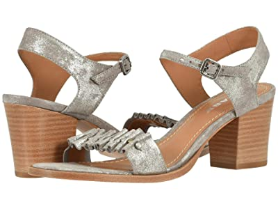 Trask Carrie (Pewter Metallic Suede) Women