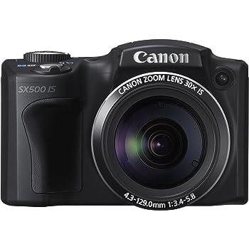 Canon Powershot SX500 IS - Cámara compacta de 16 MP (Pantalla de 3 ...