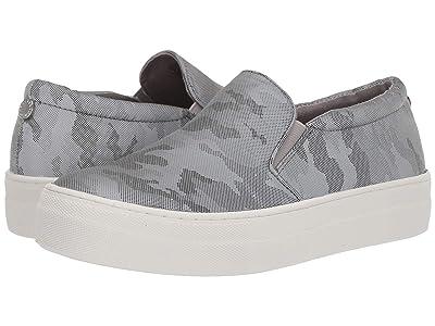 Steve Madden Gills Sneaker (Grey Metallic) Women