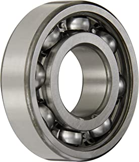 SKF 6307 Radial Bearing, Single Row, Deep Groove Design, ABEC 1 Precision, Open, Normal Clearance, Standard Cage, 35mm Bore, 80mm OD, 21mm Width