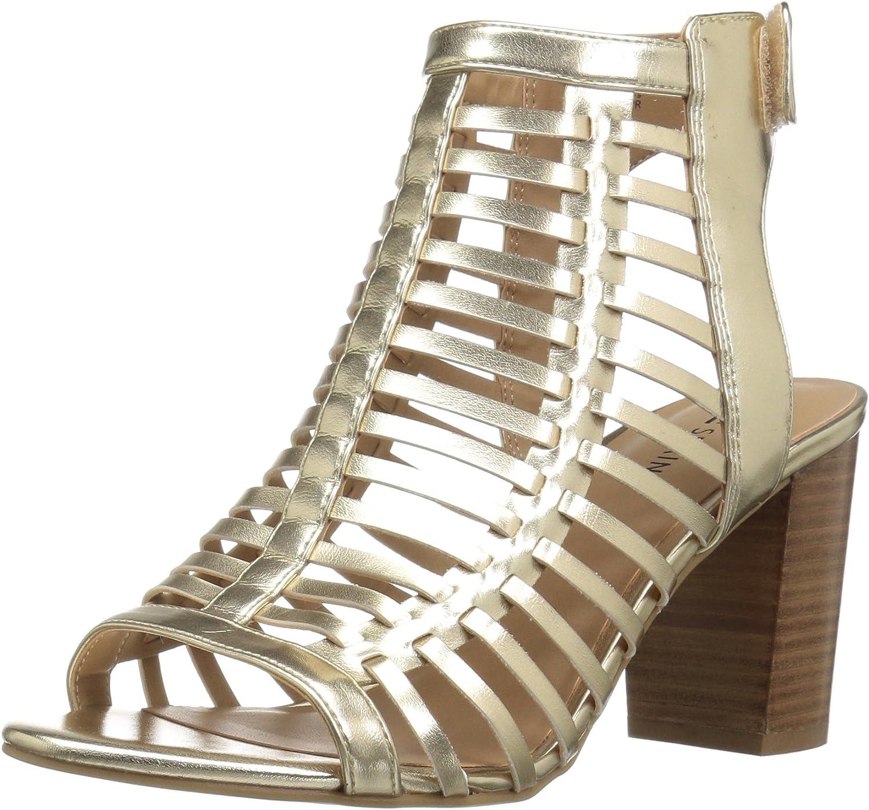 Call It Spring Womens Miriradia Heeled Sandal