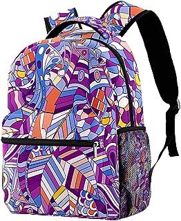 حقيبة ظهر كاجوال حقيبة كتب للمدرسة الثانوية والمدرسة الثانوية للتنزه والتخييم Daypack الأناناس وكوكو