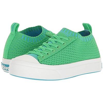 Native Kids Shoes Jefferson 2.0 Liteknit (Little Kid) (Grasshopper Green/Shell White) Kids Shoes